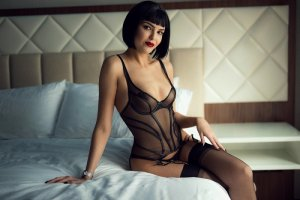 Niobe brunette escorts Glassmanor